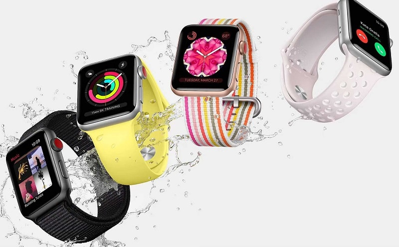Image result for apple watch chống nước