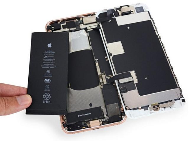 Thay pin iphone 8 Plus chính hãng giá rẻ tại đống đa